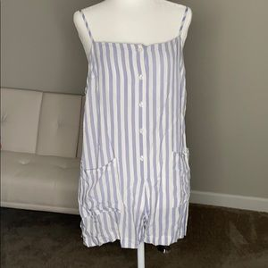 Forever21 Striped Romper